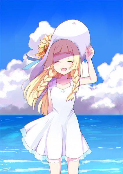 Tags: Anime, May (Pixiv Id 233774), Pokémon Sun & Moon, Pokémon, Lillie (Pokémon), Fanart, Fanart From Pixiv, Pixiv, Twitter