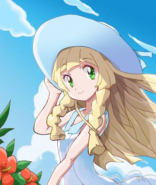 Tags: Anime, Pixiv Id 50751855, Pokémon Sun & Moon, Pokémon, Lillie (Pokémon), Fanart From Pixiv, Pixiv, Fanart