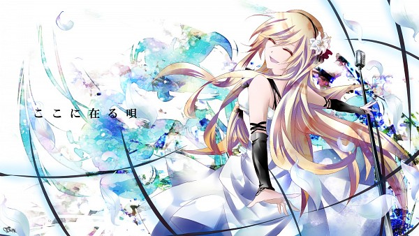 Tags: Anime, VOCALOID, Lily (VOCALOID), Wallpaper, Facebook Cover