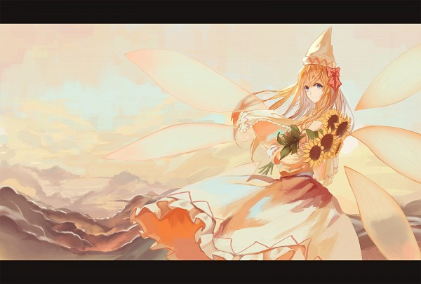 Tags: Anime, Pixiv Id 3016111, Touhou, Lily White, PNG Conversion, Pixiv, Fanart From Pixiv, Fanart