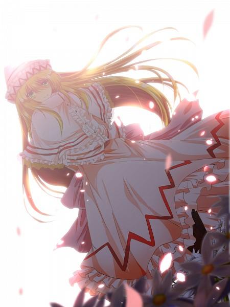 Tags: Anime, Nekominase, Touhou, Lily White, Fanart, Fanart From Pixiv, Pixiv, Mobile Wallpaper