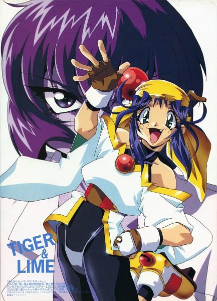 Tags: Anime, Kotobuki Tsukasa, Saber Marionette, Tiger (Saber Marionette), Lime
