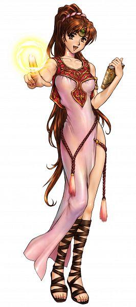 Linde (Fire Emblem) - Fire Emblem: Monshou no Nazo