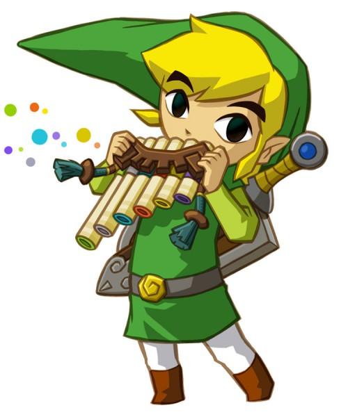 Link (Daichi no Kiteki) (Link (spirit Tracks)) - Zelda no Densetsu: Daichi no Kiteki