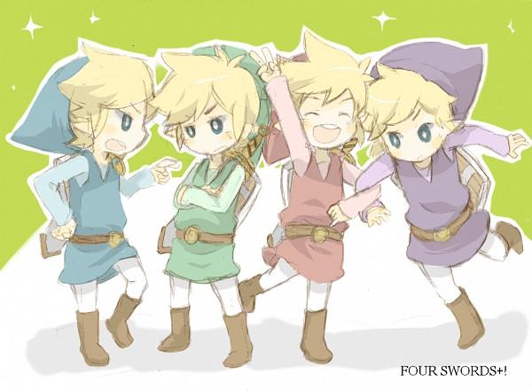 Link (Four Swords) - Four Swords
