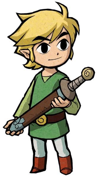 Link (Fushigi no Boushi) (Link (the Minish Cap)) - Zelda no Densetsu: Fushigi no Boushi