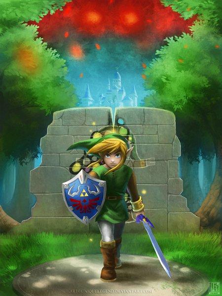 Tags: Anime, EternaLegend, Zelda no Densetsu, Zelda no Densetsu: Kamigami no Triforce, Zelda no Densetsu: Kamigami no Triforce 2, Link (Kamigami no Triforce 2), Link, Link (Kamigami no Triforce), Master Sword, Link (a Link To The Past)