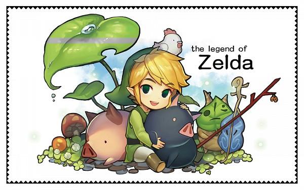 Link (Kaze no Takuto) (Link (the Wind Waker)) - Zelda no Densetsu: Kaze no Takuto