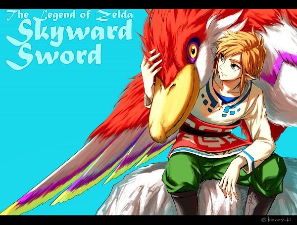Tags: Anime, Karasuki, Zelda no Densetsu: Skyward Sword, Zelda no Densetsu, Link, Link (Skyward Sword), Loftwing, Tumblr, Fanart
