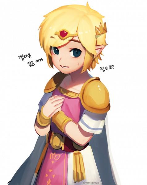 Link (Triforce Sanjuushi) (Link (tri Force Heroes)) - Zelda no Densetsu: Triforce Sanjuushi