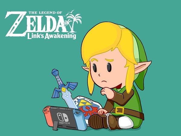 Link (Yume o Miru Shima) (Link (link's Awakening)) - Zelda no Densetsu: Yume o Miru Shima
