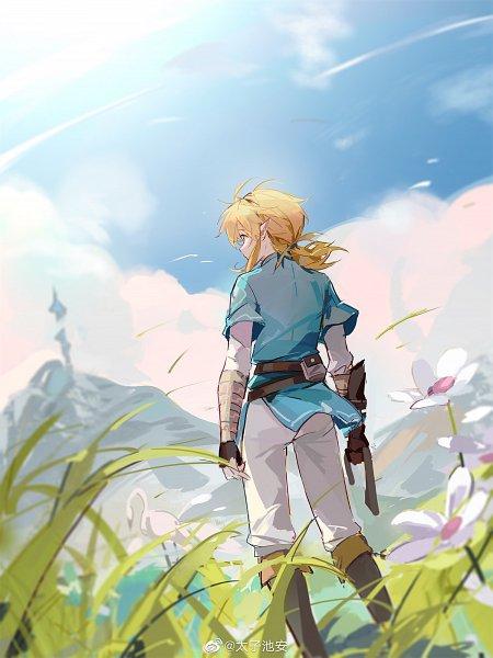 Tags: Anime, Pixiv Id 2326087, Zelda no Densetsu, Zelda no Densetsu: Breath of the Wild, Link, Link (Breath of the Wild), Fanart From Pixiv, Weibo, Pixiv, Fanart