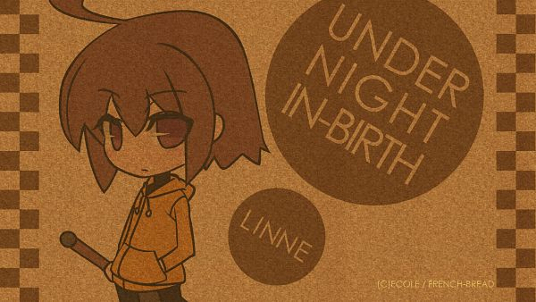 Tags: Anime, French-Bread (Studio), Under Night In-Birth, Linne (Under Night In-Birth), Official Art, HD Wallpaper, Official Wallpaper, Wallpaper