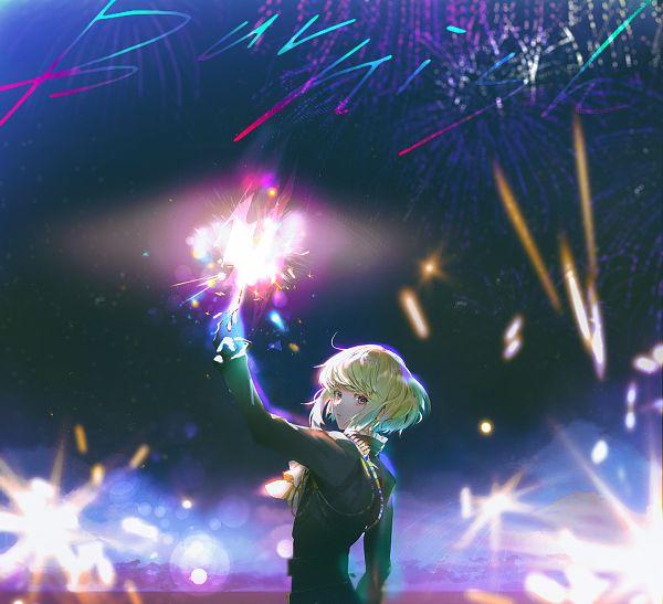 Tags: Anime, Say HANa, Promare, Lio Fotia, Backlight, Fanart From Pixiv, Pixiv, Fanart