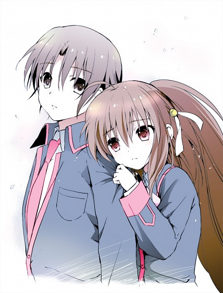 Tags: Anime, Tsukako, KEY (Studio), Little Busters!, Naoe Riki, Natsume Rin
