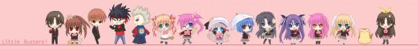 Tags: Anime, Little Busters!, Miyazawa Kengo, Kurugaya Yuiko, Natsume Rin, Inohara Masato, Saigusa Haruka, Noumi Kudryavka, Naoe Riki, Futaki Kanata, Kamikita Komari, Nishizono Mio, Tokido Saya