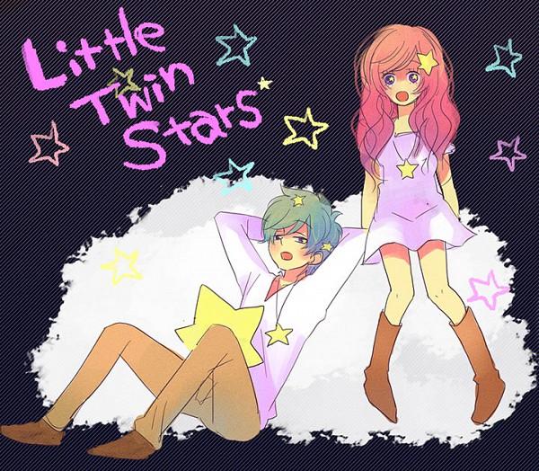 Tags: Anime, Sanrio, Lala (Sanrio), Kiki (Sanrio), Little Twin Stars
