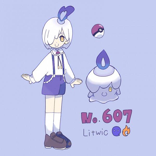 Tags: Anime, Pixiv Id 24424167, Pokémon, Litwick, Pixiv, Fanart, Fanart From Pixiv
