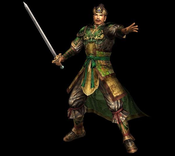 Tags: Anime, Koei, Dynasty Warriors, Liu Bei, Official Art, 3D