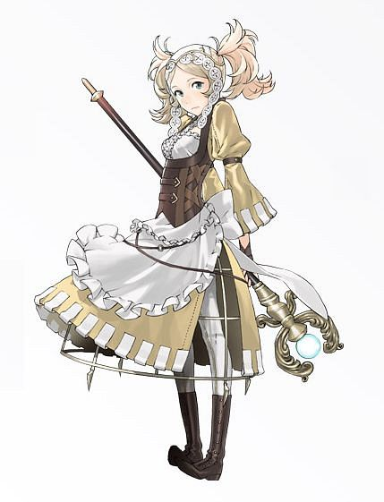 Liz (Fire Emblem) (Lissa (fire Emblem)) - Fire Emblem: Kakusei