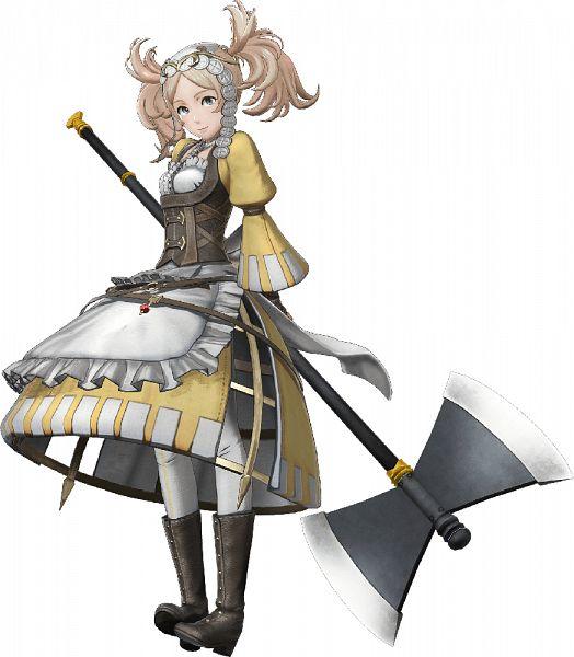 Tags: Anime, ω-Force, Fire Emblem Musou, Liz (Fire Emblem), Official Art, Lissa (fire Emblem)