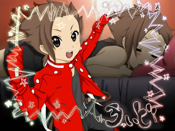 Tags: Anime, Pixiv Id 1010666, Namco, Tales of Symphonia, Lloyd Irving, K-ON! (Parody), Wallpaper, Fanart, K-ON! Character Design