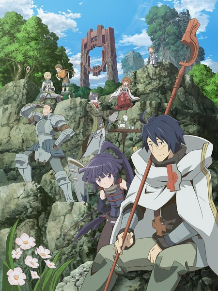 Tags: Anime, Studio DEEN, Log Horizon: Entaku Houkai, Log Horizon, Akatsuki (Log Horizon), Minori (Log Horizon), Shiroe (Log Horizon), Isuzu (Log Horizon), Nyanta (Log Horizon), Rundelhaus (Log Horizon), Naotsugu (Log Horizon), Touya (Log Horizon), Key Visual, Log Horizon: Destruction Of The Round Table