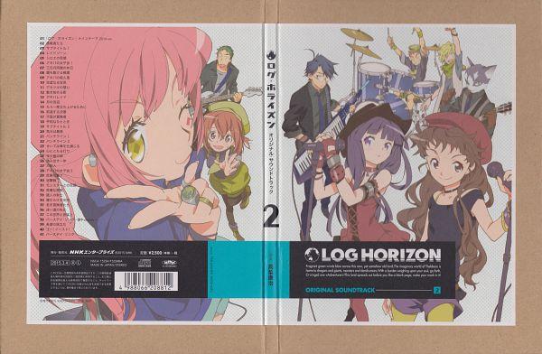 Tags: Anime, Studio DEEN, Log Horizon, Akatsuki (Log Horizon), Minori (Log Horizon), Shiroe (Log Horizon), Isuzu (Log Horizon), Tetra (Log Horizon), Nyanta (Log Horizon), Rundelhaus (Log Horizon), Naotsugu (Log Horizon), Touya (Log Horizon), Scan