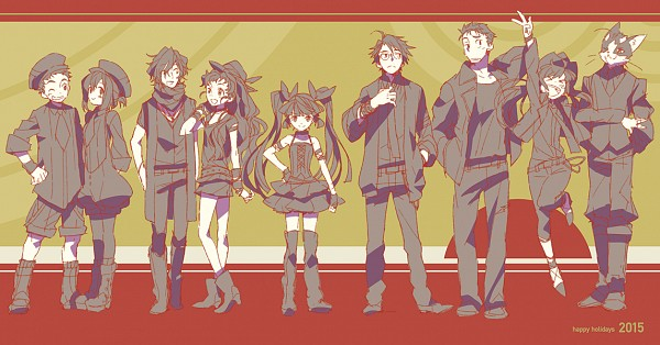 Tags: Anime, Hara Kazuhiro, Log Horizon, Touya (Log Horizon), Akatsuki (Log Horizon), Minori (Log Horizon), Shiroe (Log Horizon), Tetra (Log Horizon), Isuzu (Log Horizon), Nyanta (Log Horizon), Rundelhaus (Log Horizon), Naotsugu (Log Horizon), >O<