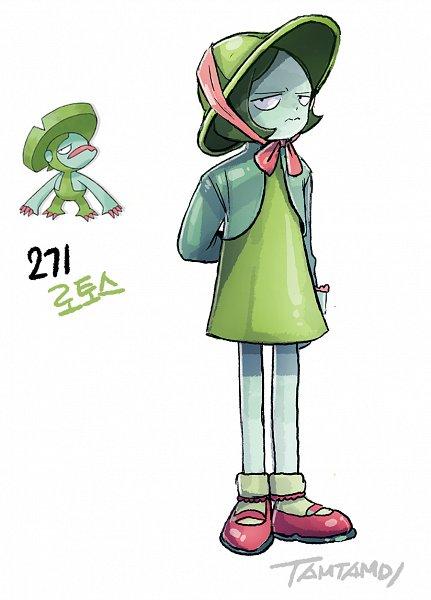 Tags: Anime, Pixiv Id 13308510, Pokémon, Lombre, Pixiv, Fanart, Fanart From Pixiv