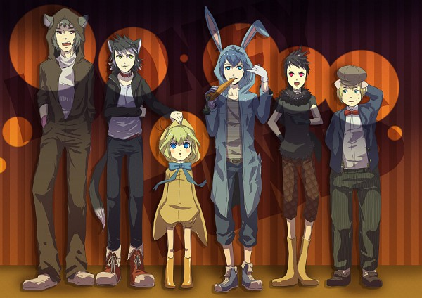 Tags: Anime, Pixiv Id 1269103, Looney Tunes, Sylvester Pussycat, Tweety Pie, Wile E. Coyote, Daffy Duck, Porky Pig, Bugs Bunny, Taz The Tasmanian Devil, Pixiv
