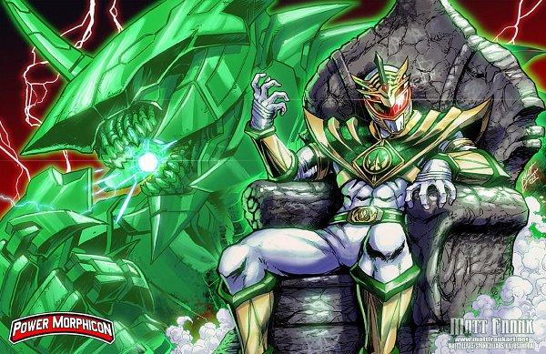 Tags: Anime, Kaijusamurai, Power Rangers, Lord Drakkon, Green Ranger (Power Rangers), White Ranger (power Rangers), Green Power Ranger, Dragonzord, deviantART