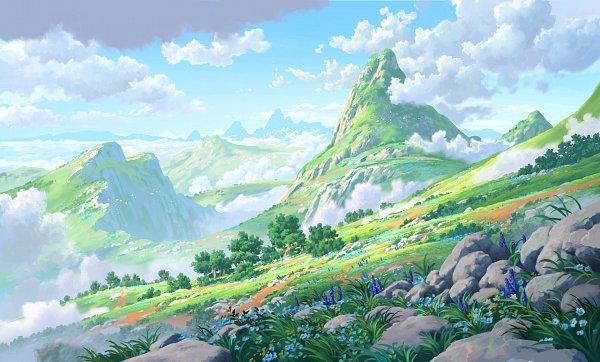 Tags: Anime, Lorenzo Lanfranconi, Facebook Cover, Original, Wallpaper, ArtStation, Lanfranconi Lorenzo