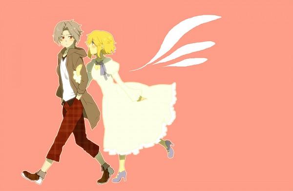 Tags: Anime, Natsuo, Lost-ko, Eien no Shounen, Pixiv, Lost (Sound Horizon), Sound Horizon