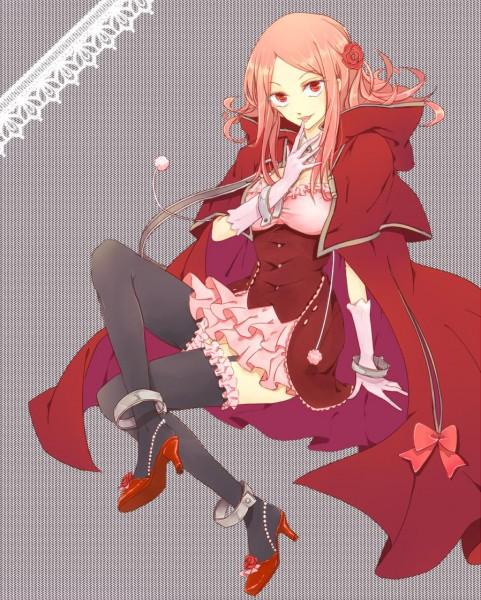 Tags: Anime, Sanae Mfn00, SQUARE ENIX, Pandora Hearts, Lotti Baskerville, Licking Finger Tip, Fanart, Pixiv, Baskerville