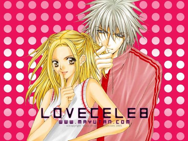 Tags: Anime, Shinjo Mayu, Love Celeb, Nakazono Kirara, Fujiwara Ginzou, Wallpaper