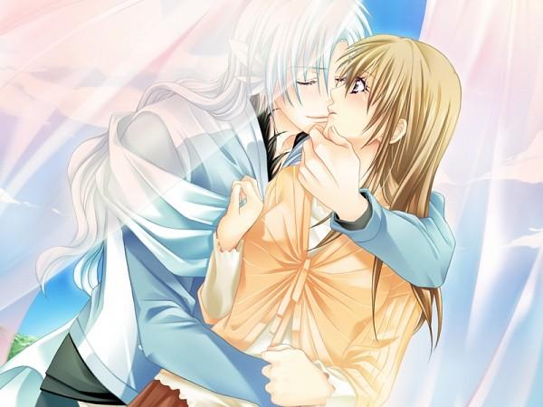 Tags: Anime, Love Drops, Tanaka Kanata, Floria, CG Art