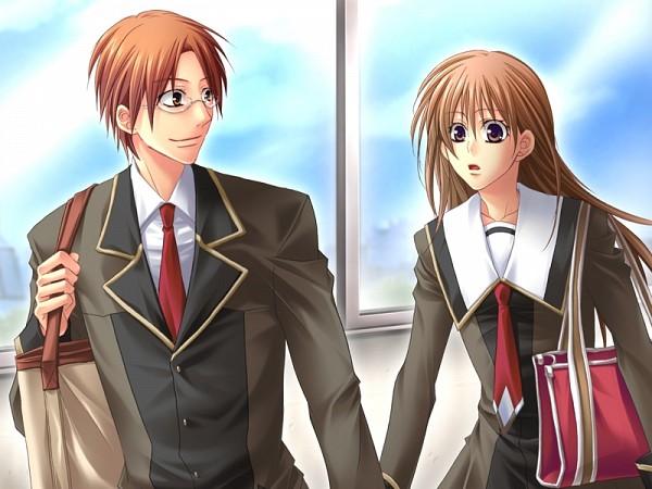 Tags: Anime, Love Drops, Sakura Tomoya, Tanaka Kanata, CG Art