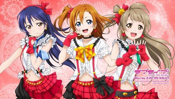 Tags: Anime, Love Live!, Minami Kotori, Kousaka Honoka, Sonoda Umi, Official Wallpaper, Wallpaper, HD Wallpaper, Facebook Cover, Bokura wa Ima no Naka de, Official Art