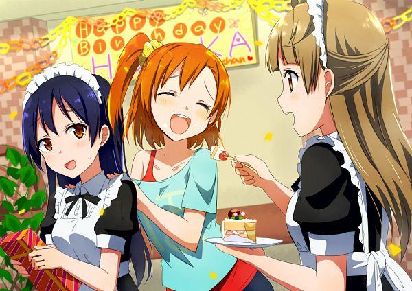 Tags: Anime, Gochou (Comedia80), Love Live!, Sonoda Umi, Minami Kotori, Kousaka Honoka, Wonder Zone