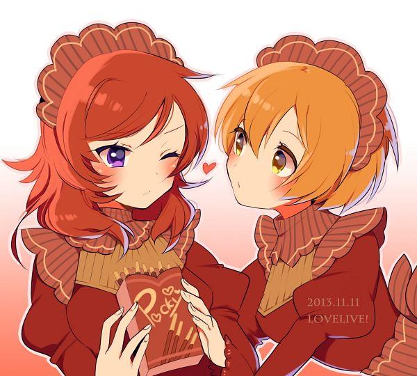 Tags: Anime, Pixiv Id 143114, Love Live!, Nishikino Maki, Hoshizora Rin
