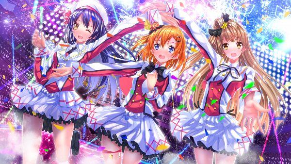 Tags: Anime, Swordsouls, Love Live!, Sonoda Umi, Minami Kotori, Kousaka Honoka, Sore wa Bokutachi no Kiseki, PNG Conversion, Wallpaper, HD Wallpaper