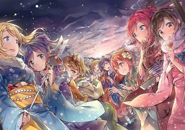 Tags: Anime, Cozyquilt, Love Live!, Toujou Nozomi, Yazawa Niko, Sonoda Umi, Kousaka Honoka, Minami Kotori, Ayase Eri, Nishikino Maki, Hoshizora Rin, Koizumi Hanayo, Pixiv