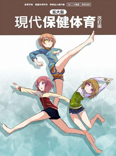 Tags: Anime, Sikei, Love Live!, Nishikino Maki, Hoshizora Rin, Koizumi Hanayo, Mobile Wallpaper, PNG Conversion