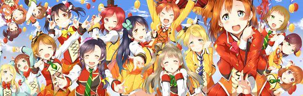 Tags: Anime, Semicha Keisuke, Love Live!, Yazawa Niko, Kousaka Yukiho, Sonoda Umi, Kira Tsubasa, Kousaka Honoka, Minami Kotori, Toudou Erina, Fumiko (Love Live!), Ayase Eri, Yuuki Anju