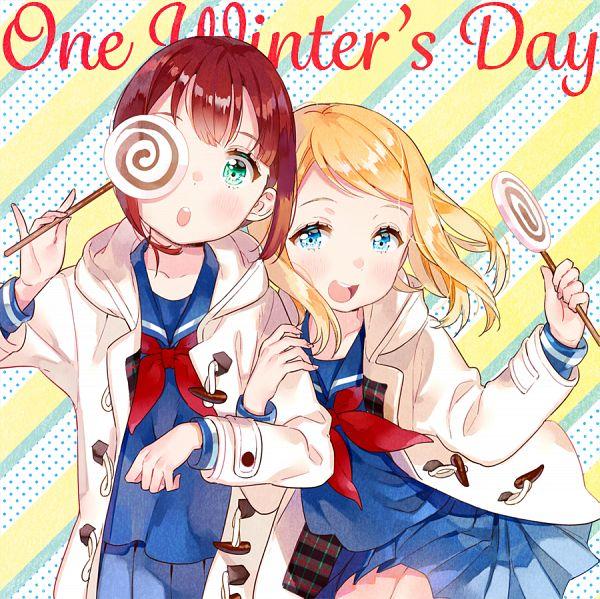 Tags: Anime, Ancotaku, Love Live!, Kousaka Yukiho, Ayase Arisa, Pixiv, Fanart, Fanart From Pixiv, PNG Conversion