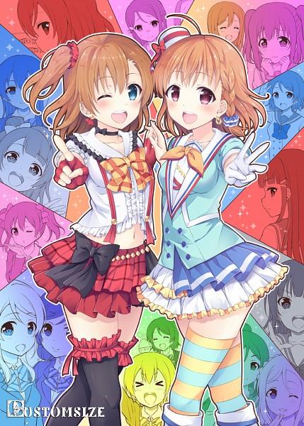 Tags: Anime, S Makoto, Love Live! Sunshine!!, Love Live!, Watanabe You, Ayase Eri, Kurosawa Ruby, Nishikino Maki, Hoshizora Rin, Kurosawa Dia, Koizumi Hanayo, Ohara Mari, Toujou Nozomi