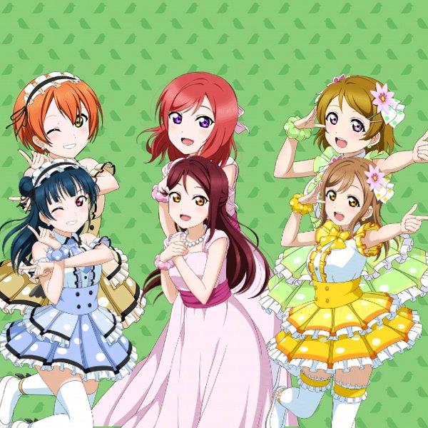 Tags: Anime, Love Live!, Love Live! Sunshine!!, Tsushima Yoshiko, Koizumi Hanayo, Sakurauchi Riko, Nishikino Maki, Kunikida Hanamaru, Hoshizora Rin, Tsushima Yoshiko (Cosplay), Sakurauchi Riko (Cosplay), Love Live! (Cosplay), Kunikida Hanamaru (Cosplay)