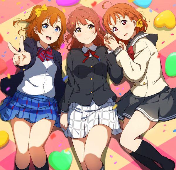 Tags: Anime, Love Live! Sunshine!!, Love Live!, Love Live! School Idol Festival ALL STARS, Takami Chika, Kousaka Honoka, Uehara Ayumu