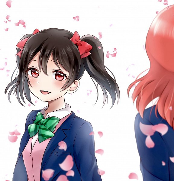 Tags: Anime, Pixiv Id 34954875, Love Live!, Nishikino Maki, Yazawa Niko, Pixiv, Fanart From Pixiv, Fanart
